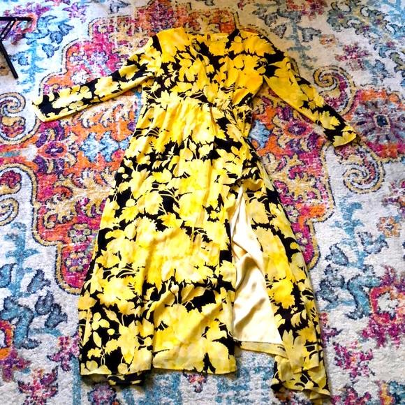 Stine Goya silk floral maxi dress